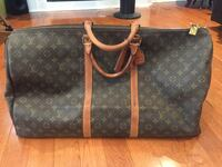 Authentic Louis Vuitton Monogram canvas leather Duffle travel bag Richmond Hill, L4B 0C4