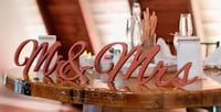 Mr. And Mrs. Freestanding Wedding Decoration Howell