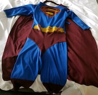 Superman Costume in Size S (4-6) - $15 Toronto, M9B 6C4
