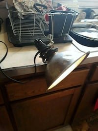Hanging electric clip light