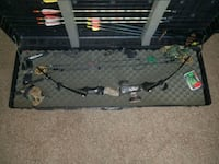 Martin M-7 Lynx bow, hard case, quiver and sights Monroe County, 48166