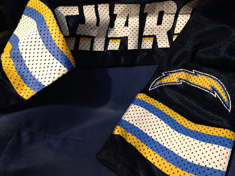 San Diego Chargers scarf with pocket  4950006f-ad40-4e1a-b11a-05feb6d1a2bb