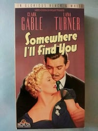 Somewhere I'll Find You vhs Baltimore