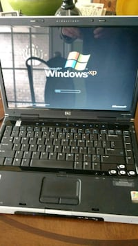 black and gray HP laptop Madison, 35758