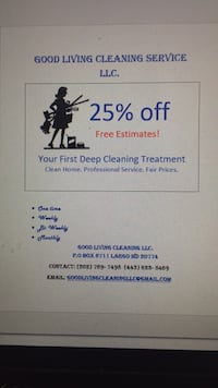 House cleaning Brandywine, 20613