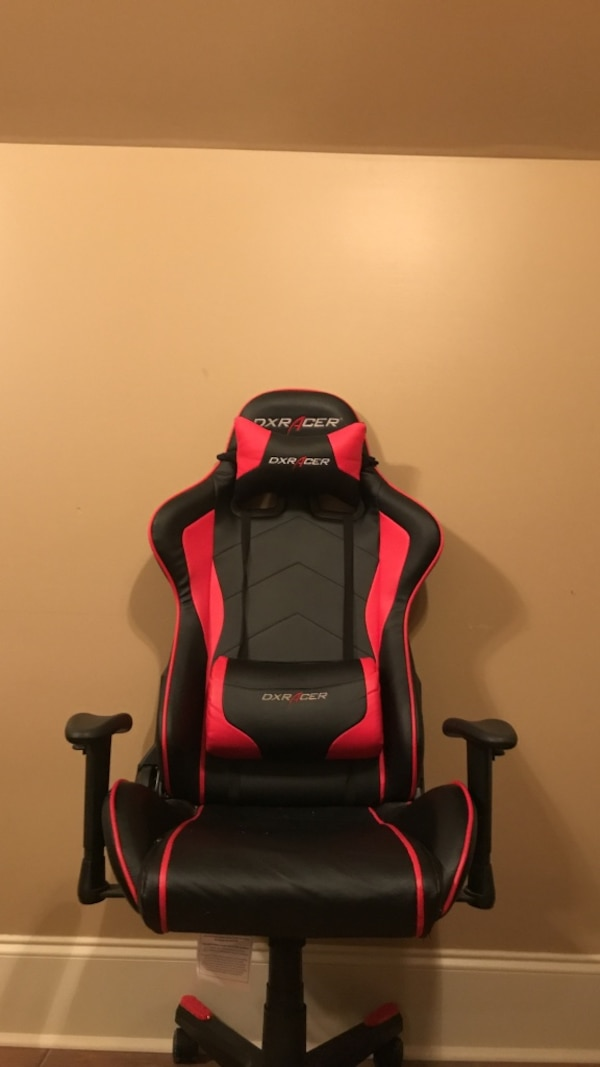 Phenomenal Dxracer Red And Black Gaming Chair Dailytribune Chair Design For Home Dailytribuneorg