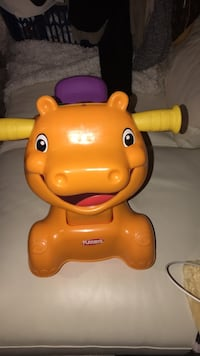 orange Playskool hippo ride-on toy Edmonton, T5T 5G7
