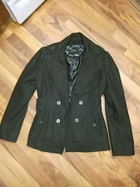 black button-up coat Paw Paw, 49079