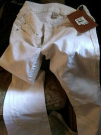 white and brown floral pants 971 mi
