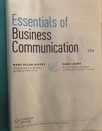 Essentials of Business Communication Textbook  District Heights, 20747