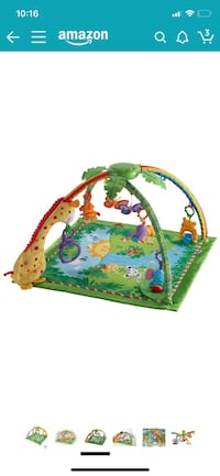 Fisher-Price Rainforest Melodies and Lights Deluxe Gym Fairfax, 22030