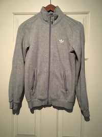 Grey Adidas track jacket - size small Vancouver, V5R