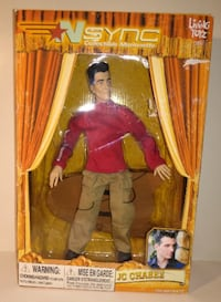 JC Chasez - NSYNC Collectible Marionette Toronto