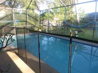 Child pool safety fence.very large have to move 32 Melbourne, 32904
