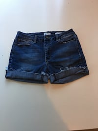 Dark Blue High Waist Jean Shorts M West Linn, 97068