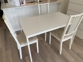 IKEA Table with 5 chairs