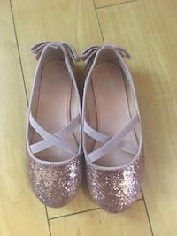 H&m Pair of pink leather flats Edmonton, T5W 3P9