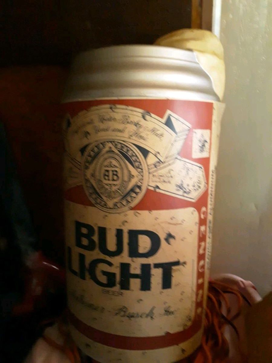 Photo Vintage Budweiser wall sign