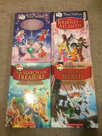 Geronimo Stilton/Thea Stilton Hard Covers (4 books) Richmond, V6Y 2E3