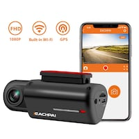 WiFi Dash Cam HD 1080P Car Camera, 150° Wide Angle, Built-in WiFi Dash New York, 11232