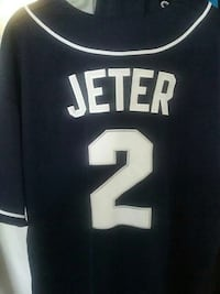 Blue and White Jeter 2 jersey