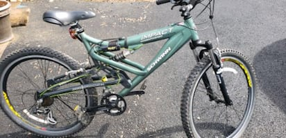 Schwinn hydro formed full suspension mountain bike