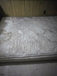 quilted white and gray floral mattress 152 mi