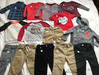 2T Toddler boy assorted clothes (shirts, shorts, sweaters) Greenfield, 93927