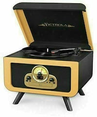 Victrola 5-in-1 Vintage Tabletop and Turntable - Refurbished Toronto