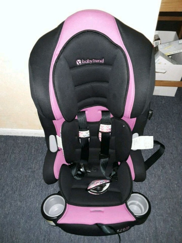 3 In 1 Hybrid Car Seat Pink And Black Baby Trend