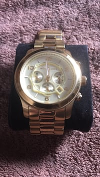 Michael Kors Gold Plated Watch Laval, H7K 3V6