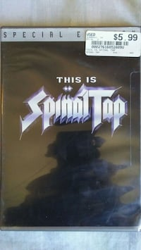 This Is Spinal Tap Unopened Dvd