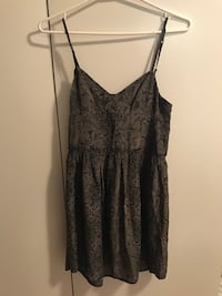 Aritzia Wilfred Reptile Print Silk Dress Toronto, M8Z 3Z7