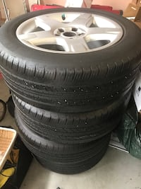 Full Set Audi Rims and Tires Richmond, V7E 1G9