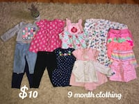 9 month clothing Stephens City, 22602