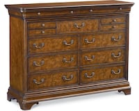 brown wooden 3-drawer chest Doylestown, 18901