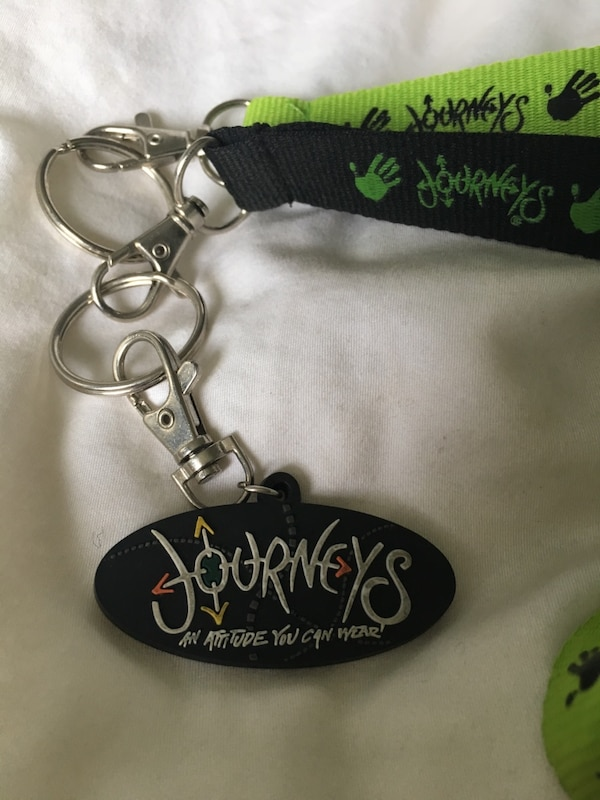 Two Journeys Lanyards and One Keychain 77412dda-d7e6-4366-8e3b-000eeb44310f