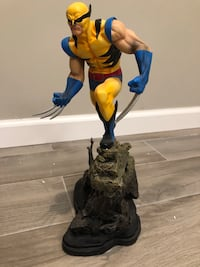 Bowen Designs Wolverine full size painted statue New York, 10306
