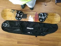 Arbor 67 roundhouse snowboard with bag  Oklahoma City, 73109