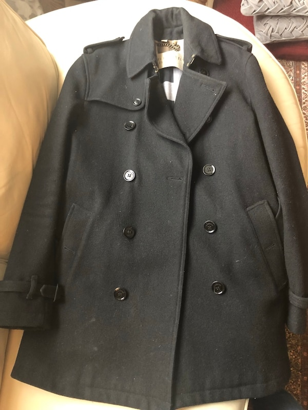 Burberry wool Jacket -(Men's) - in like new condition - size xs