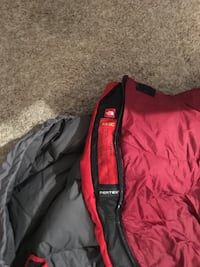 red and black zip-up jacket Houston, 77098