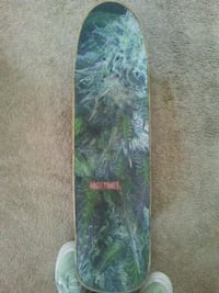 green and black skateboard deck Los Angeles, 90066