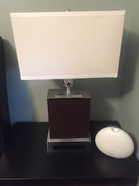 White and black table lamp Bolton, L7E 1H7