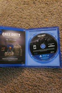 PS4 Call of Duty Infinite Warfare game disc with case San Antonio, 78240