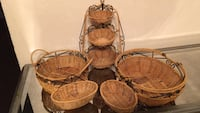Set of baskets from princess house Commerce