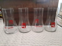 Set of 4 Vintage 7up The Uncola glasses. Whitby, L1P 1A2