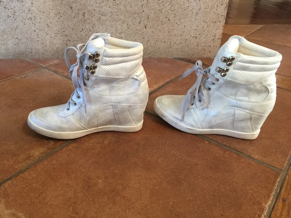 57435f84f26 Used Bridal wedge sneakers for sale in San Diego - letgo