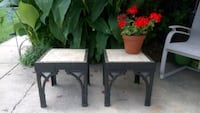 2 Plastic Chinese end Tables  Bethesda, 20814