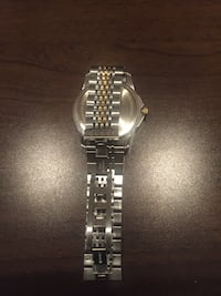 silver analog watch with link bracelet Burtonsville, 20866