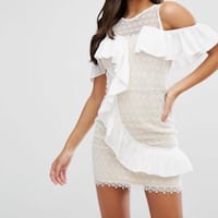 New with Tags White Lace Dress SMALL Brownsville, 78521